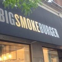 Photo taken at Big Smoke Burger by Lia M. on 5/22/2012