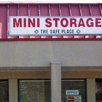 Photo taken at Safe Place Mini Storage by D T. on 12/21/2014