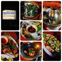 Photo taken at ระเบียงไม้Restaurant by Peeraya B. on 5/4/2014