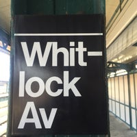 Photo taken at MTA Subway - Whitlock Ave (6) by Jason A. on 7/10/2015