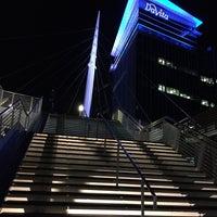 3/7/2016 tarihinde Alina G.ziyaretçi tarafından Millenium Bridge'de çekilen fotoğraf