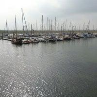Photo taken at Spiekeroog Hafen by Paul D. on 7/26/2014