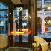 Photo taken at Le Petit Hôtel by Steven C. on 12/17/2014