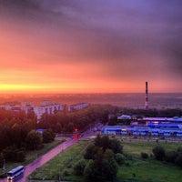 Photo taken at Пущино by Dan C. on 6/17/2013