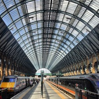 Photo taken at London King's Cross Railway Station (KGX) by Laurent D. on 7/28/2013