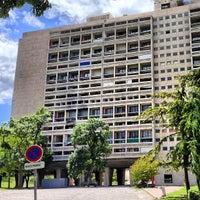 Photo taken at Cité Radieuse Le Corbusier by Laurent D. on 5/24/2013