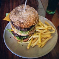Photo taken at Yes Burger by Tomas S. on 2/6/2013