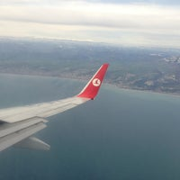 Photo taken at Samsun Çarşamba Airport (SZF) by Erinc A. on 3/19/2013
