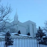 Photo taken at Bountiful Utah Temple by Teach J. on 1/19/2013