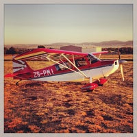 Photo taken at Tedderfield Air Park (FATA) by duncan f. on 10/13/2013