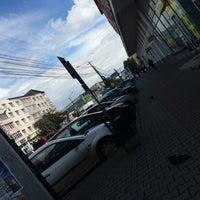 Photo taken at Bulevardul Decebal by Edina K. on 5/9/2016