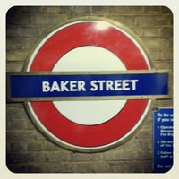 Photo taken at Baker Street by Lucy M. on 1/2/2013