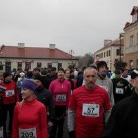 Photo taken at Rynek w Serocku by Robert F. on 11/17/2013