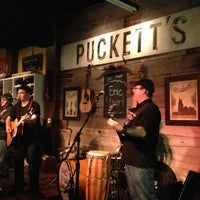 Photo taken at Puckett's Grocery & Restaurant by avery h. on 4/11/2013