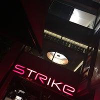 Photo taken at Strike Bowling Bar by Phil H. on 4/29/2016
