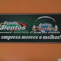 Photo taken at Estúdio Talentos by Jamila M. on 5/30/2014
