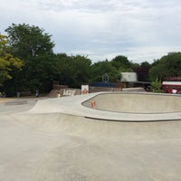 Photo taken at Skatepark by Benjay S. on 6/28/2015