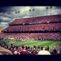 Photo taken at Kyle Field by Brian G. on 10/20/2012
