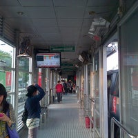 Photo taken at Halte TransJakarta Departemen Pertanian by Novedial H. on 4/9/2013