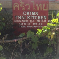 Photo taken at Chim's Thai Kitchen by Inky E. on 10/13/2016