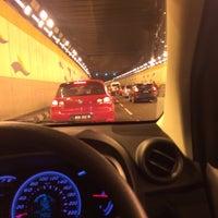 Photo taken at Jalan Tun Razak Tunnel by Shahril H. on 6/17/2016