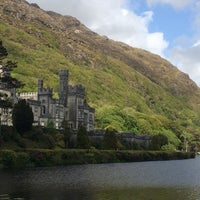 Photo taken at Kylemore Abbey by Julie B. on 6/6/2015