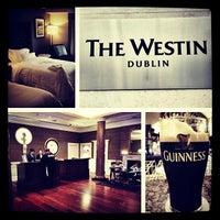 Photo taken at The Westin Dublin by Bradley W. on 5/18/2013