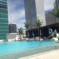 Photo taken at Epic Rooftop Pool by Tiv o. on 10/27/2013