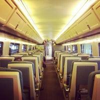 Photo taken at Via Rail Train by Alex F. on 9/15/2012