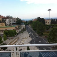 Photo taken at Hotel Plaza by Luca P. on 6/10/2014