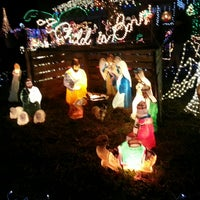 Photo taken at Tripp Family Christmas Lights by Becky R. on 12/24/2013