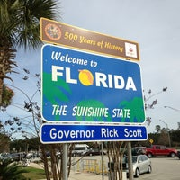 Photo taken at Florida Welcome Center (I-95) by Doug L. on 1/22/2013