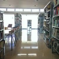 Photo taken at Biblioteca Central Xavier Amorós by airiah on 10/16/2014