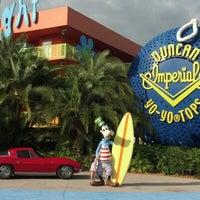 Photo taken at Disney's Pop Century Resort by Don J. on 1/2/2013