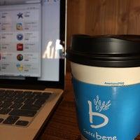 Photo taken at Caffé bene by Hyunjin L. on 5/5/2014