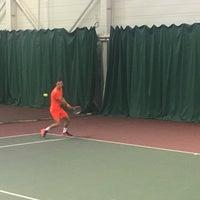 Photo taken at Теннисный корт TETRA by Iryna G. on 12/14/2016