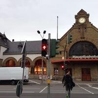 Das Foto wurde bei Bahnhof Eisenach von Barbora V. am 9/25/2015 aufgenommen