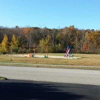 Photo taken at Playground by Lesley W. on 10/25/2013