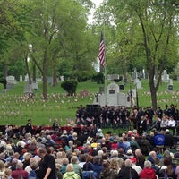 Photo taken at Lakewood Cemetery by Dane H. on 5/27/2013