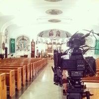 Photo taken at St Roman Church by Mauricio R. on 8/16/2014