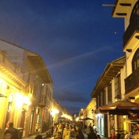 Photo taken at Andador Real de Guadalupe by Osvaldo H. on 3/29/2013