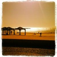 Photo taken at Frishman Beach by Paula L. on 4/25/2013