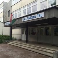 6/13/2016 tarihinde Géza B.ziyaretçi tarafından Csíki-Hegyek utcai Általános Iskola'de çekilen fotoğraf