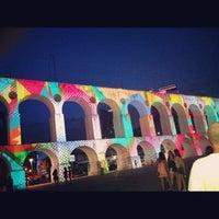 Foto tirada no(a) Arcos da Lapa por André C. em 10/22/2012