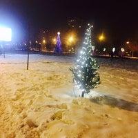 Photo taken at Парк Македонија by Silvana J. on 1/24/2017
