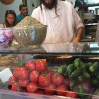 Photo taken at Lahuhe Original Yemanite Food Bar by Alyssa A. on 6/15/2014