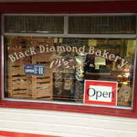 Photo taken at Black Diamond Bakery and Restaurant by Penny R. on 2/3/2013