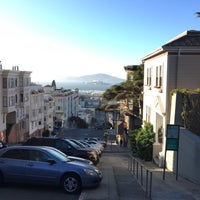 Photo taken at Russian Hill by Tim S. on 6/4/2017