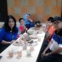 Photo taken at RM Sunda Ampera - Cinere by Mishika A. on 6/26/2014