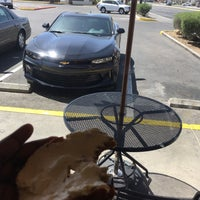 Photo taken at Einstein Bros Bagels by Dre D. on 4/23/2017